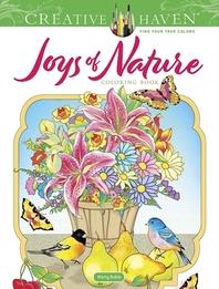 [해외]Creative Haven Joys of Nature Coloring Book