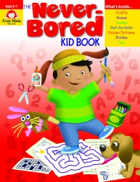 The Never-bored Kid Book(Ages 6-7)