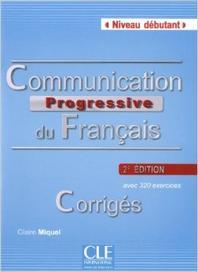 Communication progressive du francais - corriges