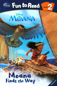 Moana: Moana Finds the Way 세트(CD1장포함)(Disney Fun To Read 2-33)