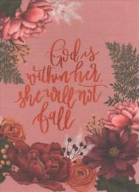 [해외]Niv, Artisan Collection Bible, Cloth Over Board, Pink Floral, Designed Edges Under Gilding, Red Letter Edition, Comfort Print (Hardcover)