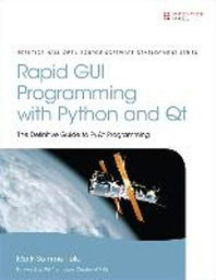 [해외]Rapid GUI Programming with Python and Qt