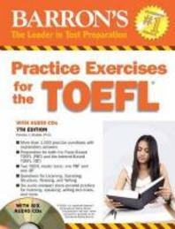 Barrons Practice Exercises for the TOEFL(CD6장 포함)