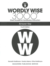 Wordly Wise 3000: Book 9 Answer Key (4/E)