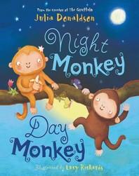 [해외]Night Monkey, Day Monkey (Board Books)
