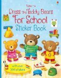Dress Teddy Bears For School Sticker Bk