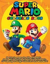 [해외]Super Mario Coloring Book