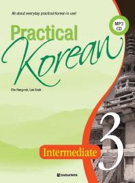Practical Korean. 3: Intermediate(CD1장포함)