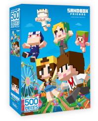 샌드박스프렌즈 퍼즐 500 놀러가요