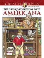 [해외]Creative Haven the Saturday Evening Post Americana Coloring Book