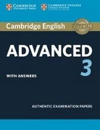 [해외]Cambridge English Advanced 3. Student's Book with answers
