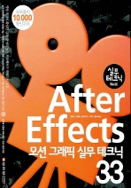 AFTER EFFECTS 모션 그래픽 실무 테크닉 33(실무테크닉 6)