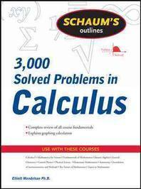 [해외]Schaum's Outline of 3000 Solved Problems in Calculus