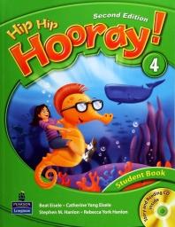 HIP HIP HOORAY. 4(STUDENT BOOK)(SECOND EDITION)(CD1장포함)