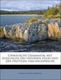 [해외]Chinesische Grammatik (Paperback)