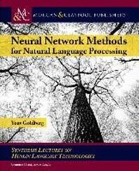 [해외]Neural Network Methods in Natural Language Processing (Hardcover)