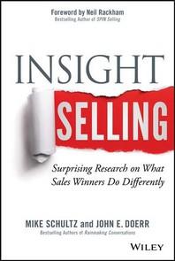 [해외]Insight Selling (Hardcover)