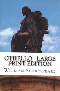 [해외]Othello - Large Print Edition (Paperback)
