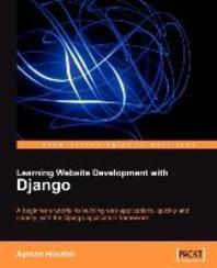 [해외]Learning Website Development with Django (Paperback)