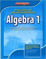 [해외]Algebra 1 Study Guide and Intervention Workbook
