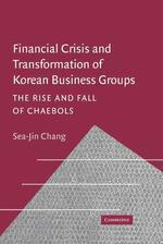 Financial Crisis and Transformation in Korea