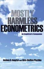 [해외]Mostly Harmless Econometrics