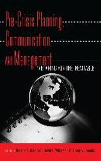 [해외]Pre-Crisis Planning, Communication, and Management (Hardcover)