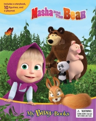 Masha and The Bear My Busy Books