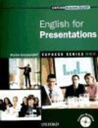 ENGLISH FOR PRESENTATIONS(MultiROM 1장 포함)(OXFORD BUSINESS ENGLISH E