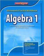 [해외]Algebra 1 Homework Practice Workbook