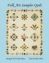 [해외]Folk Art Sampler Quilt