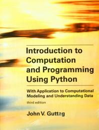 [해외]Introduction to Computation and Programming Using Python, Third Edition