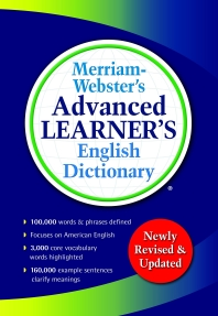 [해외]Merriam-Webster's Advanced Learner's English Dictionary