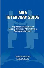 [해외]MBA Interview Guide