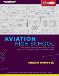 [해외]Aviation High School Student Notebook (Paperback)
