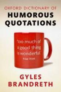 [해외]Oxford Dictionary of Humorous Quotations