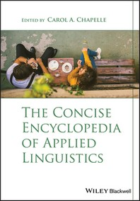 [해외]The Concise Encyclopedia of Applied Linguistics