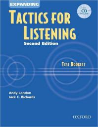 Expanding Tactics for Listening Test Booklet 2/E(with CD)