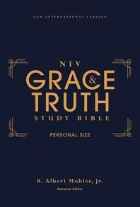 [해외]Niv, the Grace and Truth Study Bible, Personal Size, Hardcover, Red Letter, Comfort Print