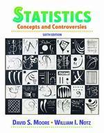 [보유]Statistics, 6/e : Concepts And Controversies (Paperback)