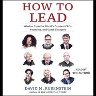[해외]How to Lead (Compact Disk)