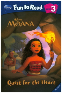 Moana: Quest for the Heart(Disney Fun To Read 3-22)