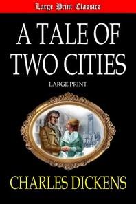 [해외]A Tale of Two Cities Large Print (Paperback)