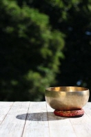 A Beautiful Tibetan Singing Bowl and Reflection Journal
