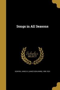 [해외]Songs in All Seasons (Paperback)