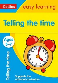 [해외]Collins Easy Learning Age 5-7 -- Telling Time Ages 5-7 (Paperback)