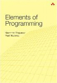 [해외]Elements of Programming (Hardcover)