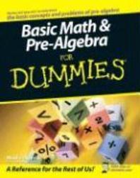 [해외]Basic Math & Pre-Algebra for Dummies