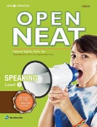 OPEN NEAT Speaking Level. 1(CD1장포함)