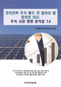 한국전력 주식 매수 전 알아야 할 용어와 이슈: 주식 시장 영향 분석집. 14